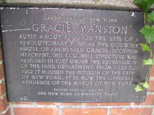 Gracie_Mansion_Plaque